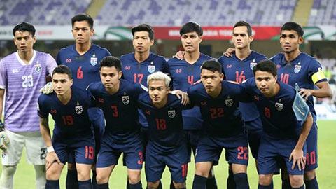 Thái Lan đá giao hữu với đội từng đánh bại Việt Nam