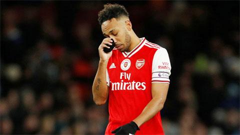 Aubameyang đàm phán bế tắc với Arsenal
