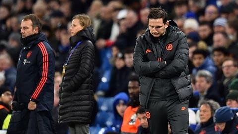 Lampard thừa nhận Chelsea thua tâm phục khẩu phục
