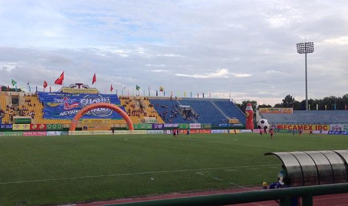 Sân Bình Dương sẽ là nơi diễn ra trận đấu giữa Việt Nam và Kyrgyzstan