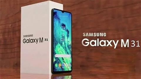 Samsung Galaxy M31 ra mắt với pin 6000mAh, 4 camera sau, RAM 6GB, giá hơn 4,8 triệu