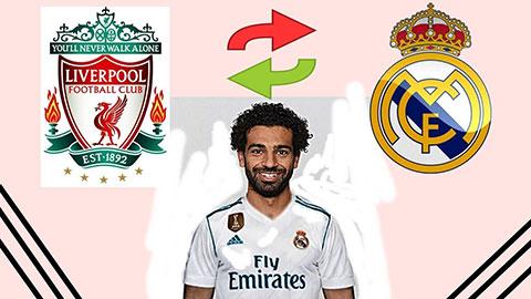 Liverpool là bước đệm để Salah tới Real hoặc Barca