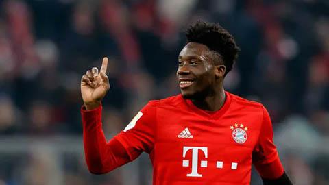 Alphonso Davies: Phiên bản Usain Bolt trong bóng đá của Bayern