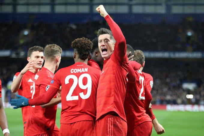 Bayern khẳng định vị thế ứng cử viên vô địch