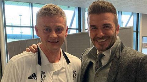 Beckham: 'Solskjaer xứng đáng được ngợi khen'