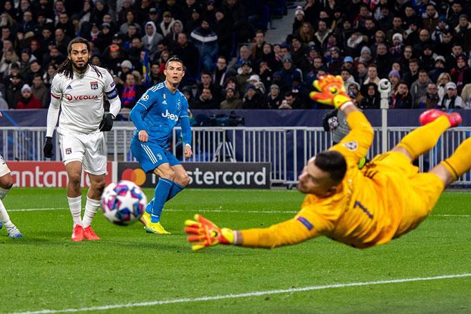 Ronaldo tiếp tục mất dạng ở Champions League mùa này