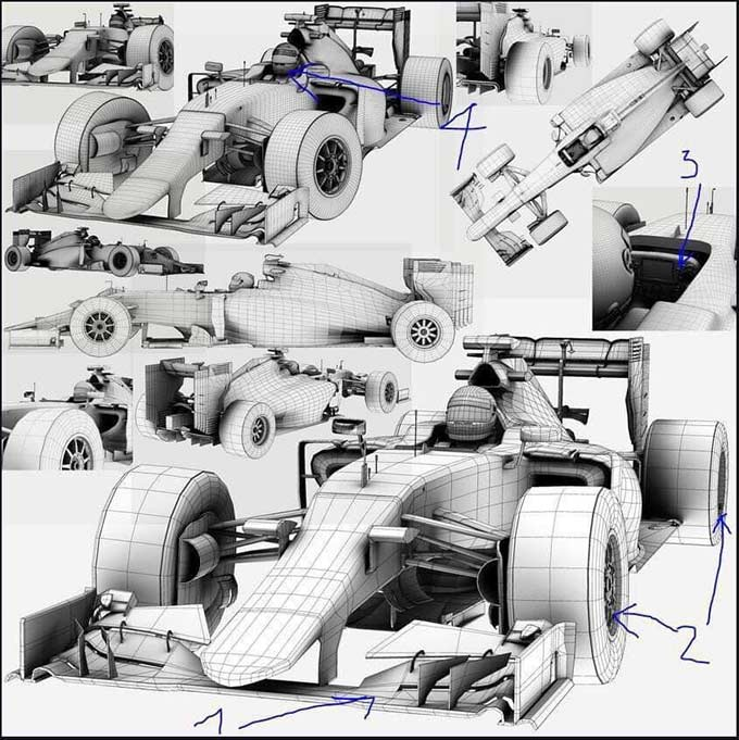 Được biết chiếc xe được tạo hình bởi các nghệ sỹ bên Mỹ thuật công nghiệp của Việt Nam. Phải mất 4-5 tháng, một chiếc xe mô hình mới được hoàn thành.