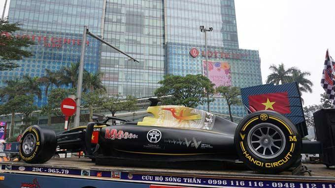 Vào đầu tháng 4 tới, chặng đua F1 tại Hà Nội sẽ diễn ra.