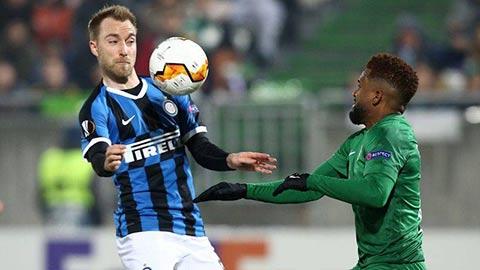 Inter vs Ludogorets: Thể hiện đi Eriksen
