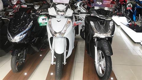 Honda SH 125, SH 250 2020 bất ngờ giảm giá mạnh ở các đại lý khiến các fan sửng sốt
