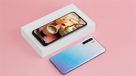Oppo A91 thiết kế đẹp mắt, camera 48MP, pin 4025mAh, giá siêu hấp dẫn