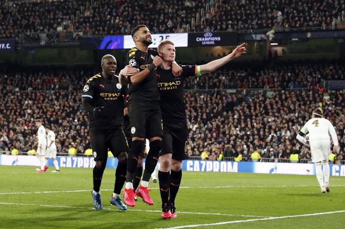 Man City đã có chiến thắng ấn tượng trước Real