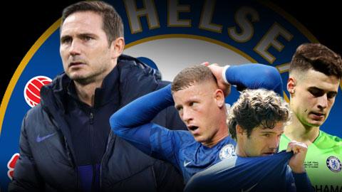 Lampard lên kế hoạch bán... 8 cầu thủ Chelsea