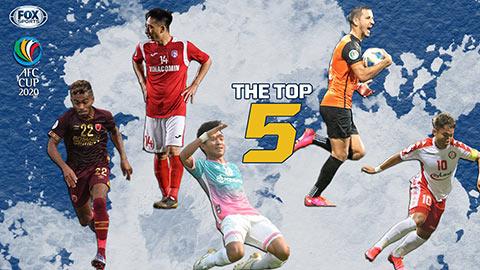 Phi Sơn, Hải Huy được vinh danh ở AFC Cup 2020