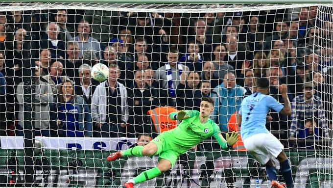 Man City đánh bại Chelsea ở chung kết cúp Liên đoàn Anh mùa trước