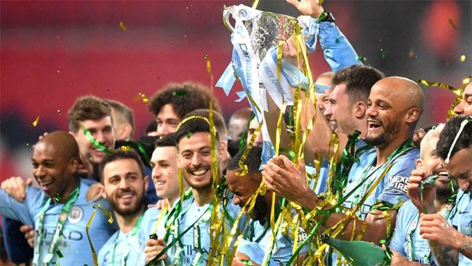 Man City rất có duyên với sân Wembley