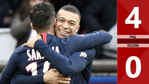 PSG 4-0 Dijon(Vòng 25 Ligue One 2019/20)