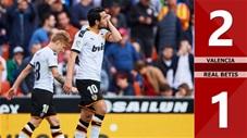 Valencia 2-1 Real Betis(Vòng 25 La Liga 2019/20)