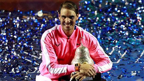 Nadal vô địch Mexican Open lần thứ 3, đoạt danh hiệu ATP thứ 85