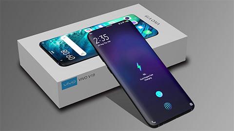 Vivo V19 thiết kế tuyệt đẹp chạy Snap 730G, pin 4500mAh, camera 48MP, giá rẻ