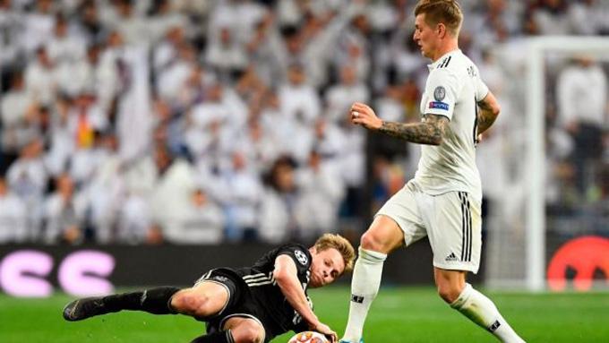 Cuộc chiến giữa Kroos và De Jong ở giữa sân sẽ cực kỳ thú vị