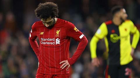 Liverpool thua sốc Watford: Cỗ máy hủy diệt đang chậm lại