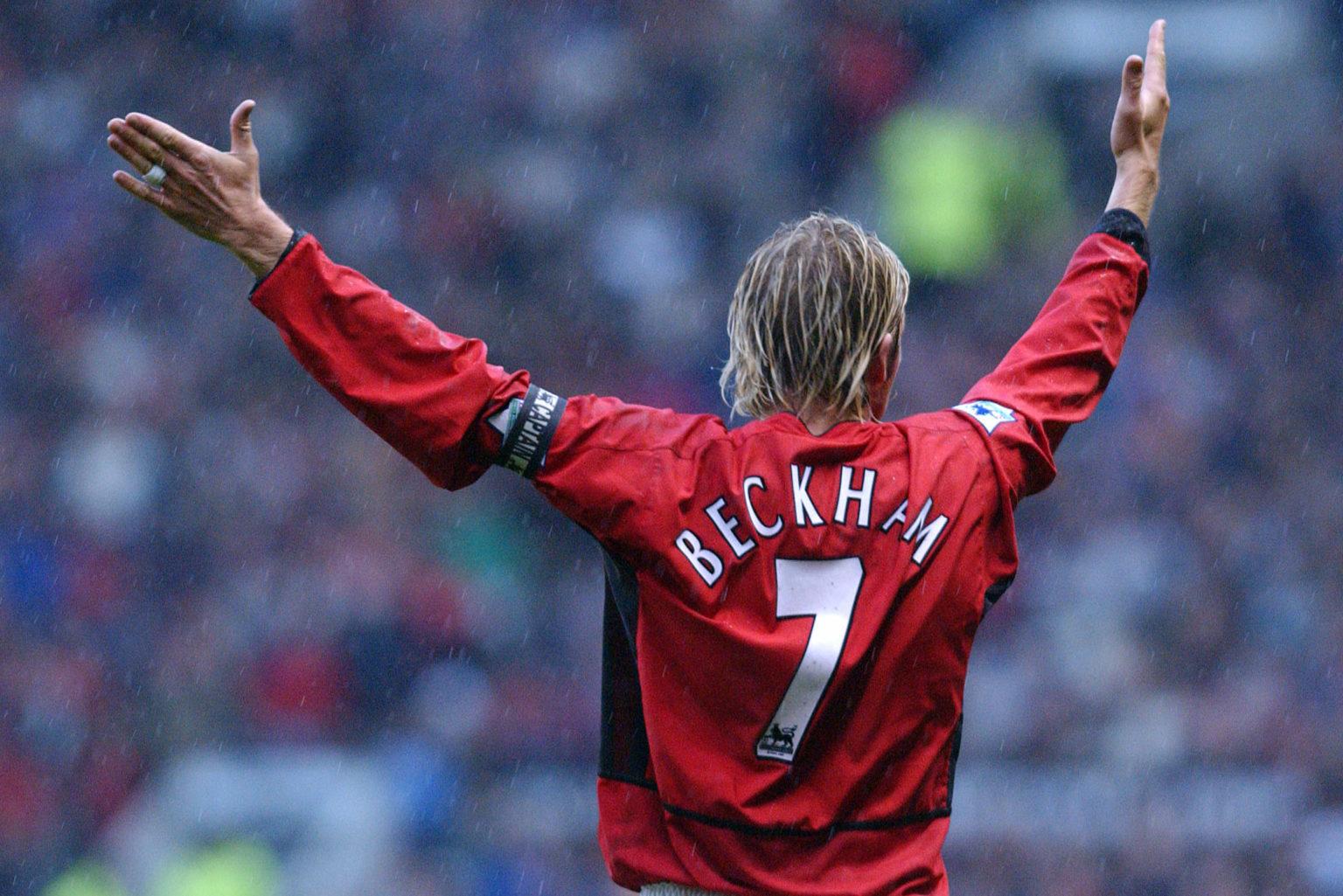 David Beckham gia tăng ánh hào quang cho số 7