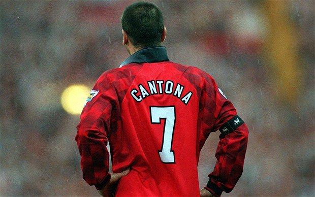 Cantona làm số 7 trở thành huyền thoại tại Man United