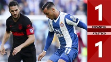 Espanyol 1-1 Atletico(Vòng 26 La Liga 2019/20)