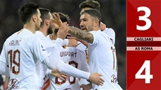 Cagliari 3-4 AS Roma(Vòng 26 Seari A 2019/20)