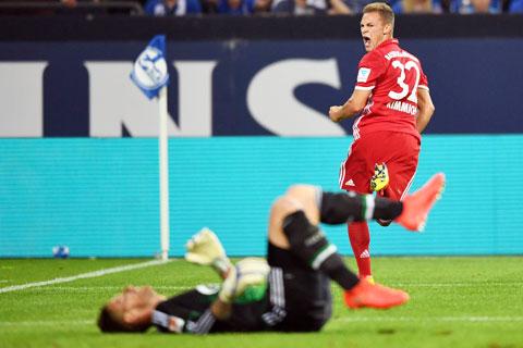 Kimmich và Bayern có thể sẽ ăn mừng chiến thắng ngay trên sân của Schalke