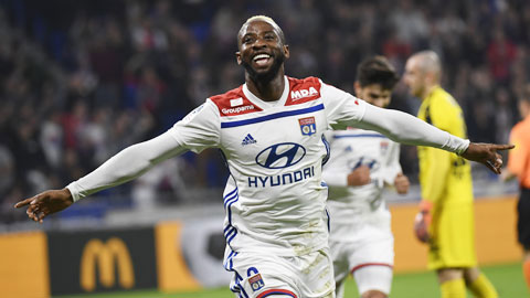 Lyon hạ gục ST.Etienne 2-0: Người hùng Moussa Dembele