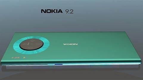 Nokia 9.2 xuất hiện với thiết kế tuyệt đẹp, camera siêu khủng