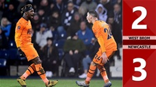 West Brom 2-3 Newcastle(Cúp FA 2019/20)