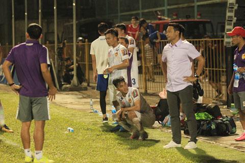 Quảng Nam FC đang tổn thất lực lượng do nhiều cầu thủ chấn thương