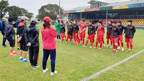 ĐT nữ Việt Nam ưu tư về nhân sự trước trận play-off Olympic Tokyo 2020