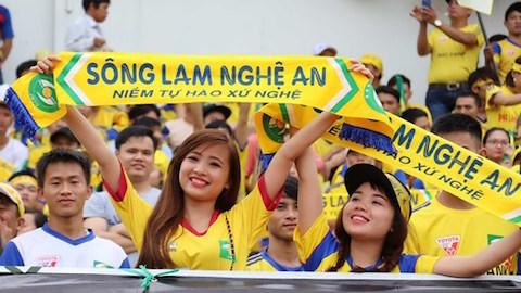 Vòng 1 V.League thi đấu không khán giả, CĐV xứ Nghệ tiếc nuối
