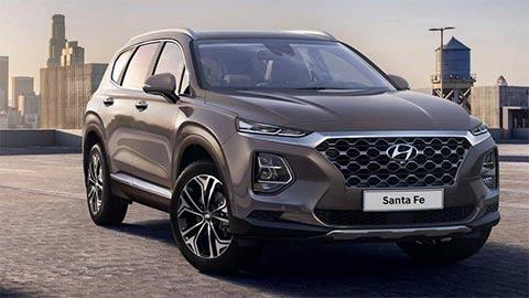 Giá lăn bánh Hyundai Santa Fe 2020 đẹp mê ly, là bao nhiêu?