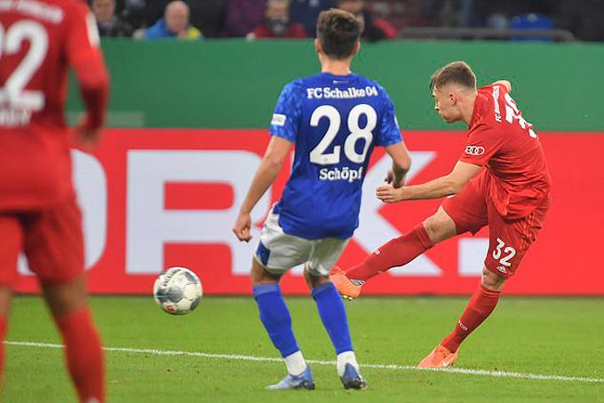 Kết quả Schalke 0-1 Bayern: Hùm xám lần thứ 11 liên tiếp vào bán kết