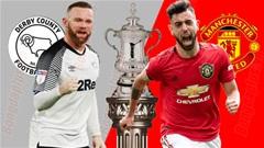 Derby County vs Man United, 2h45 ngày 6/3: Hạ Derby để tiếp lửa derby