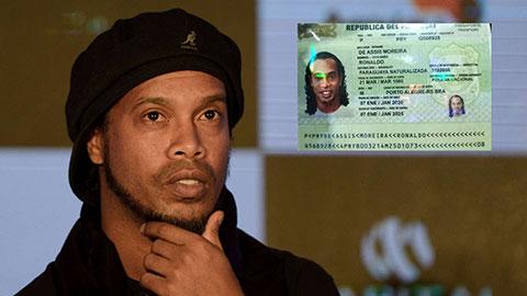 Ronaldinho bị tóm ở Paraguay do dùng hộ chiếu giả