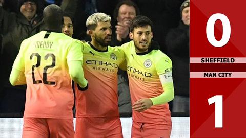 Sheffield 0-1 Man City(Vòng 5 Cúp FA 2019/20)