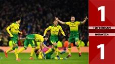 Tottenham 1-1 Norwich (Pen 2-3)(Vòng 5 Cúp FA 2019/20)