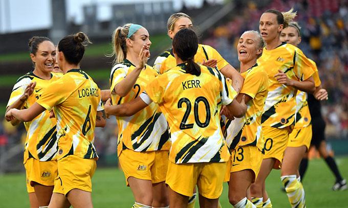 Australia thể hiện đẳng cấp của đội mạnh nhất châu Á