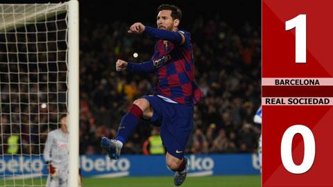 Barcelona 1-0 Real Sociedad(Vòng 27 La Liga 2019/20)