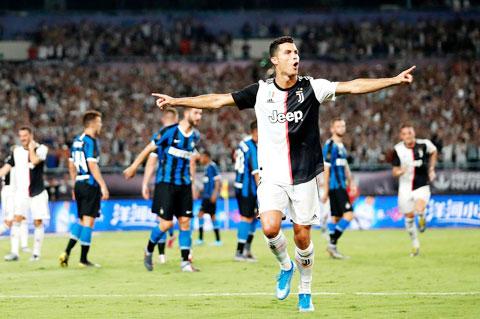 Ronaldo từng ghi bàn vào lưới Inter