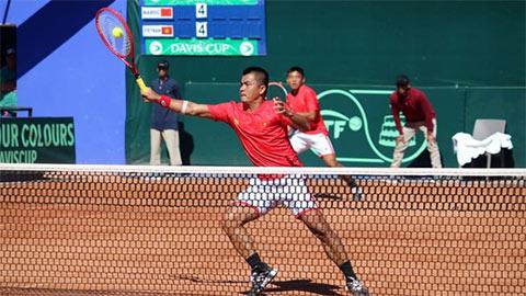 ĐT quần vợt Việt Nam thất bại trong trận play off Davis Cup 2020