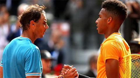 Nadal 'song kiếm' với Felix trước ngày Indian Wells khởi tranh