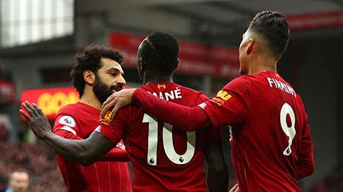 Liverpool lập siêu kỷ lục ở Anfield