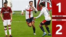AC Milan 1-2 Genoa(Vòng 26 Seari A 2019/20)